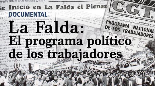 """b37bf922aa La Falda  El programa político de los trabajadores"""""""